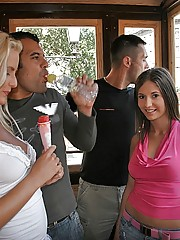12 pics and 1 movie of Lysa from Euro Sex Parties