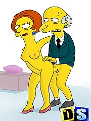 The Simpsons love sex