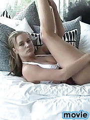 Danielle plays at home
