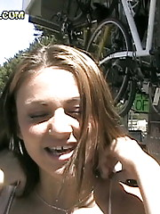 12 pics and 1 movie of Naudia from Street Blowjobs