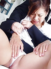 Teenage Japanese girl loves a semen load on her cute face