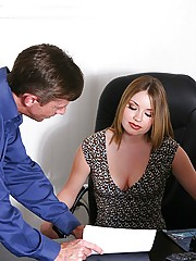 I�ve been checking out this hot secretary in a nearby office