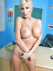 Puma Swede fucks her students big hard dick in class