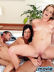 12 pics and 1 movie of Lorinda from Euro Sex Parties