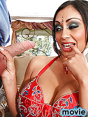 Priya is begging her husband to stay in from work today so that they can work some new positions from the ultimate book of love but without any success. Priya is interrupted while playing with herself and decides that a dick might help her do what she int