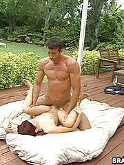 A nice day to fuck in the backyard... Don't miss it.