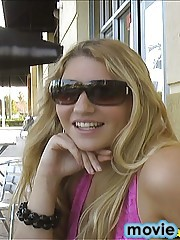 12 pics and 1 movie of Tarra from Street Blowjobs